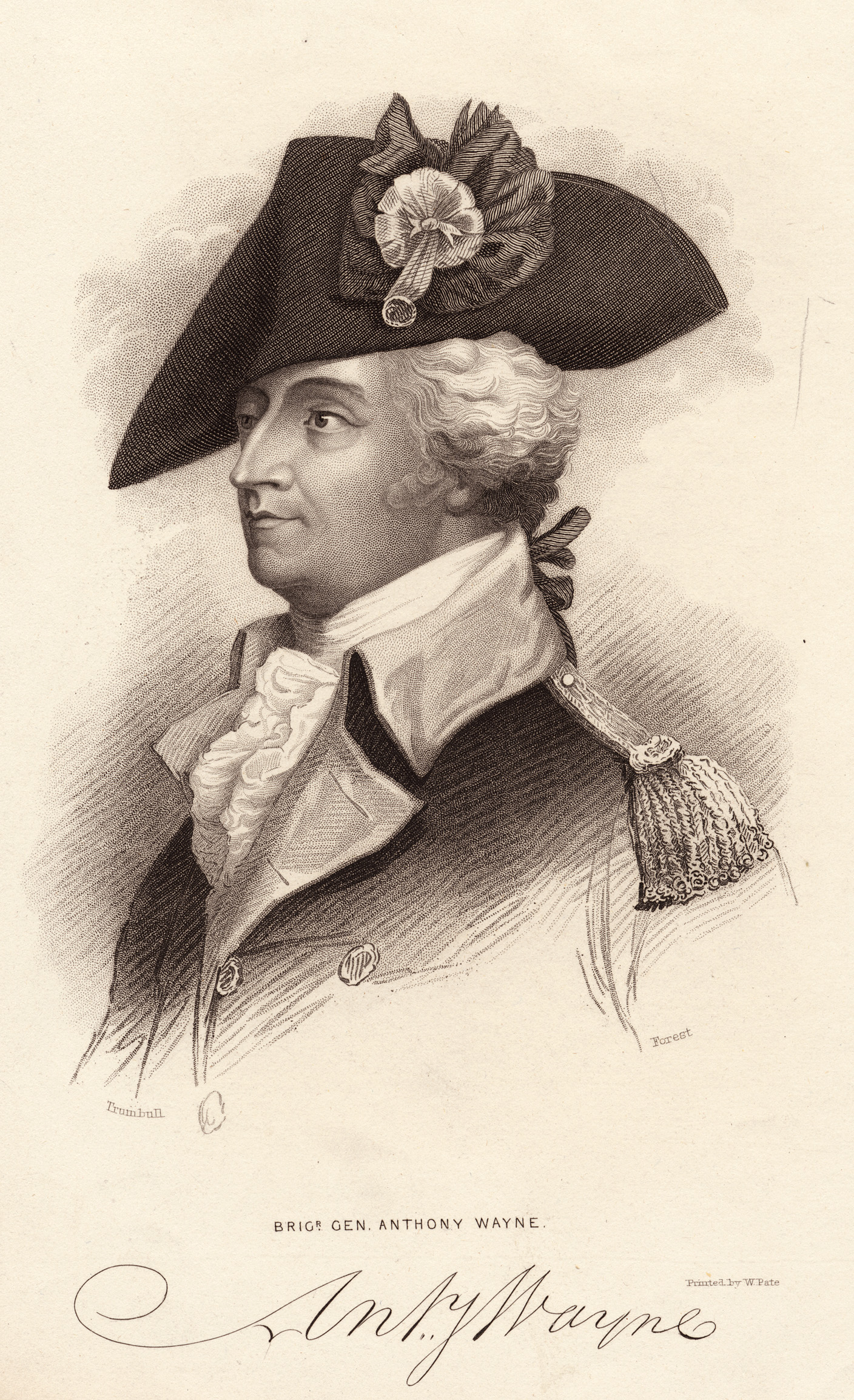 Anthony Wayne (1745–1796), American General